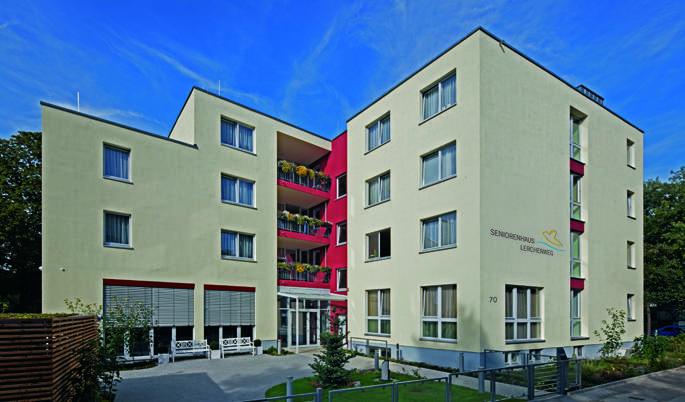 Seniorenhaus Lerchenweg - Pflegeheim in Mariendorf